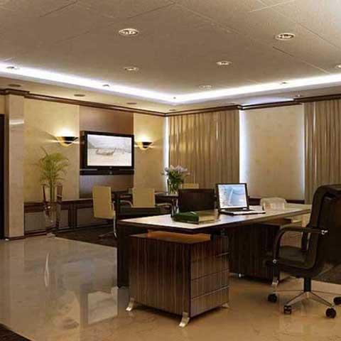 Работы по организации делового пространства в столичном офисе